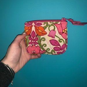 Small Vera Bradley zip bag